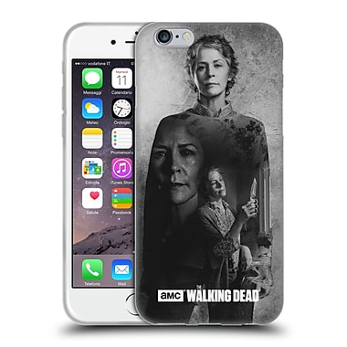 Official Amc The Walking Dead Exposure Carol Soft Gel Case For Apple Iphone 6 / 6S