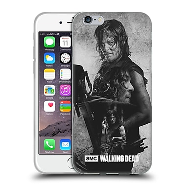 Official Amc The Walking Dead Exposure Daryl Soft Gel Case For Apple Iphone 6 / 6S