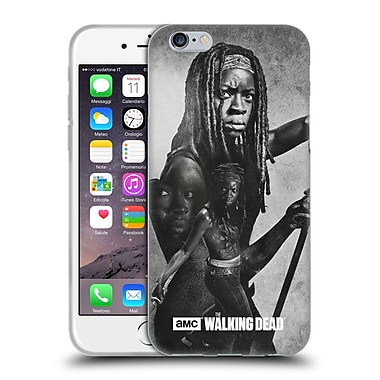 Official Amc The Walking Dead Exposure Michonne Soft Gel Case For Apple Iphone 6 / 6S