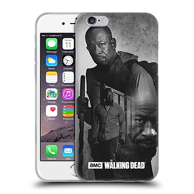 Official Amc The Walking Dead Exposure Morgan Soft Gel Case For Apple Iphone 6 / 6S