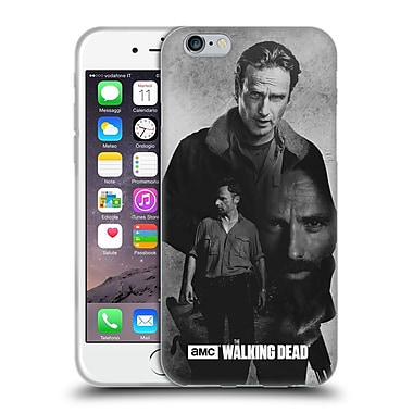 Official Amc The Walking Dead Exposure Rick Soft Gel Case For Apple Iphone 6 / 6S