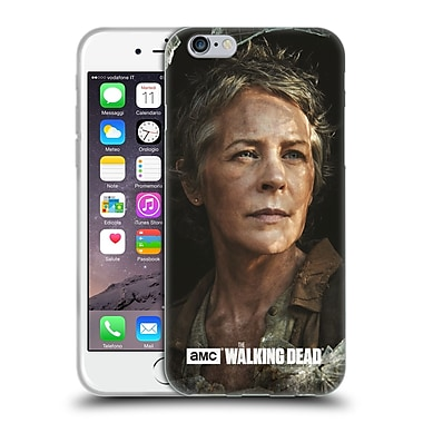 Official Amc The Walking Dead Filtered Characters Carol Soft Gel Case For Apple Iphone 6 / 6S