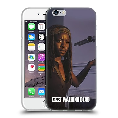 Official Amc The Walking Dead Filtered Characters Michonne Soft Gel Case For Apple Iphone 6 / 6S