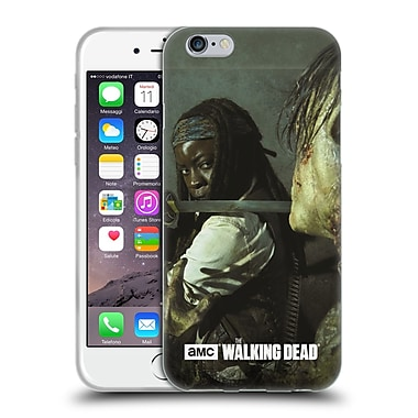 Official Amc The Walking Dead Filtered Characters Michonne Katana Soft Gel Case For Apple Iphone 6 / 6S