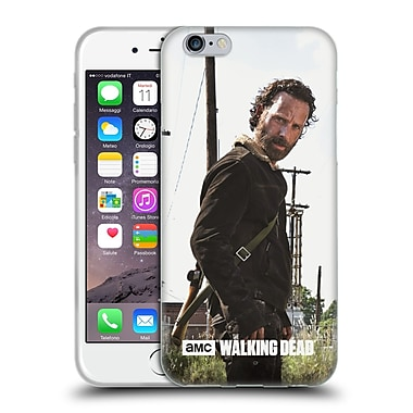 Official Amc The Walking Dead Filtered Characters Rick Gun Soft Gel Case For Apple Iphone 6 / 6S