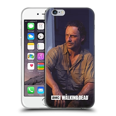 Official Amc The Walking Dead Filtered Characters Rick Soft Gel Case For Apple Iphone 6 / 6S