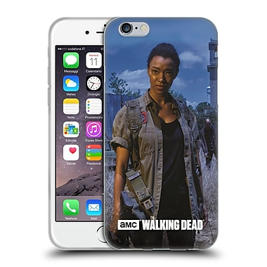 Official Amc The Walking Dead Filtered Characters Sasha Soft Gel Case For Apple Iphone 6 / 6S
