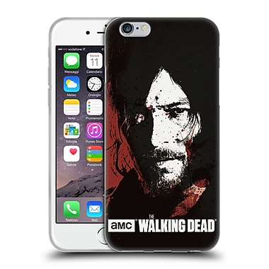 Official Amc The Walking Dead Gore Blood Bath Daryl Soft Gel Case For Apple Iphone 6 / 6S