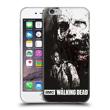 Official Amc The Walking Dead Gore Morgan And Lurker Soft Gel Case For Apple Iphone 6 / 6S