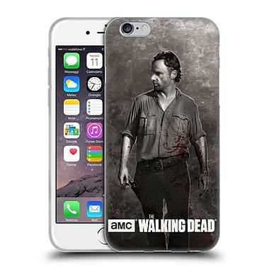 Official Amc The Walking Dead Gore Rick Grimes Soft Gel Case For Apple Iphone 6 / 6S