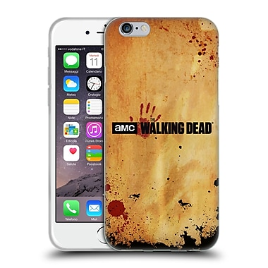 Official Amc The Walking Dead Logo Horizontal Soft Gel Case For Apple Iphone 6 / 6S
