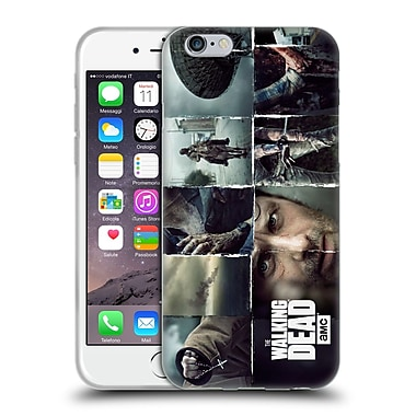 Official Amc The Walking Dead Logo Key Art Horizontal Soft Gel Case For Apple Iphone 6 / 6S
