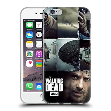 Official Amc The Walking Dead Logo Key Art Vertical Soft Gel Case For Apple Iphone 6 / 6S