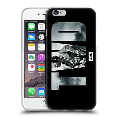 Official Amc The Walking Dead Logo Landscape Soft Gel Case For Apple Iphone 6 / 6S