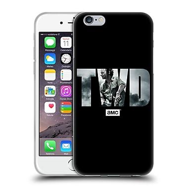 Official Amc The Walking Dead Logo Portrait Soft Gel Case For Apple Iphone 6 / 6S