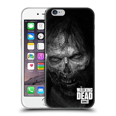 Official Amc The Walking Dead Logo Stare Soft Gel Case For Apple Iphone 6 / 6S
