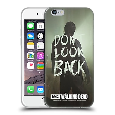 Official Amc The Walking Dead Quotes Dont Look Back Soft Gel Case For Apple Iphone 6 / 6S