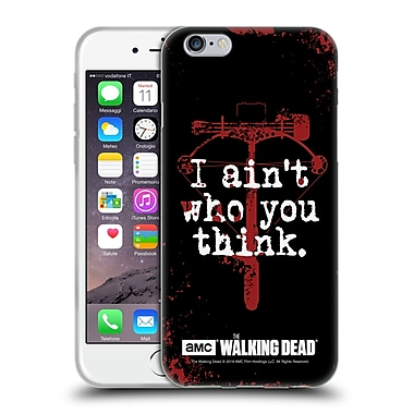 Official Amc The Walking Dead Quotes Daryl Think Soft Gel Case For Apple Iphone 6 / 6S