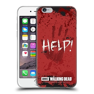 Official Amc The Walking Dead Quotes Help Soft Gel Case For Apple Iphone 6 / 6S