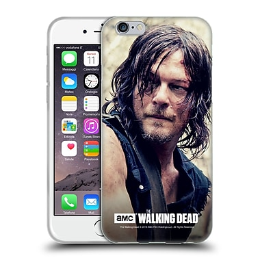 Official Amc The Walking Dead Daryl Dixon Half Body Soft Gel Case For Apple Iphone 6 / 6S