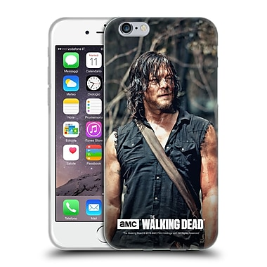 Official Amc The Walking Dead Daryl Dixon Look Soft Gel Case For Apple Iphone 6 / 6S