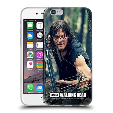 Official Amc The Walking Dead Daryl Dixon Lurk Soft Gel Case For Apple Iphone 6 / 6S