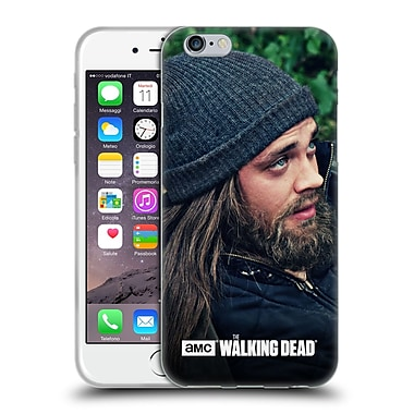 Official Amc The Walking Dead Jesus Profile Soft Gel Case For Apple Iphone 6 / 6S