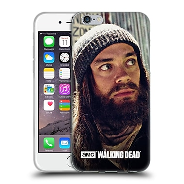 Official Amc The Walking Dead Jesus Watchful Soft Gel Case For Apple Iphone 6 / 6S