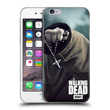 Official Amc The Walking Dead Key Art Rosary Soft Gel Case For Apple Iphone 6 / 6S
