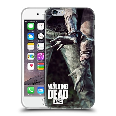 Official Amc The Walking Dead Key Art Walker In Chains Soft Gel Case For Apple Iphone 6 / 6S