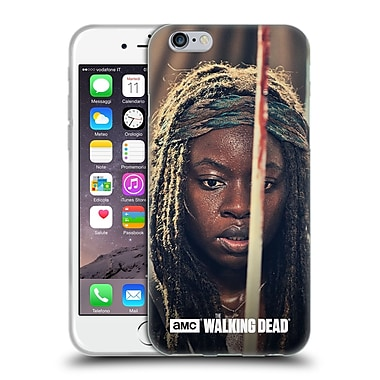 Official Amc The Walking Dead Michonne Bloody Sword Soft Gel Case For Apple Iphone 6 / 6S
