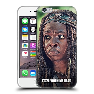 Official Amc The Walking Dead Michonne Face Soft Gel Case For Apple Iphone 6 / 6S