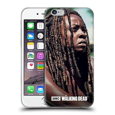 Official Amc The Walking Dead Michonne Profile Soft Gel Case For Apple Iphone 6 / 6S