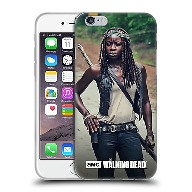 Official Amc The Walking Dead Michonne Stance Soft Gel Case For Apple Iphone 6 / 6S