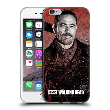Official Amc The Walking Dead Negan Lucille 2 Soft Gel Case For Apple Iphone 6 / 6S