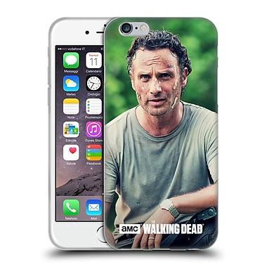 Official Amc The Walking Dead Rick Grimes Half Body Soft Gel Case For Apple Iphone 6 / 6S