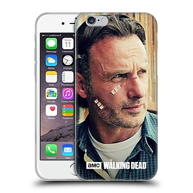 Official Amc The Walking Dead Rick Grimes Cuts And Bandages Soft Gel Case For Apple Iphone 6 / 6S