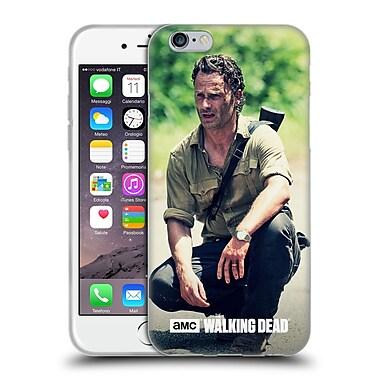 Official Amc The Walking Dead Rick Grimes Squat Soft Gel Case For Apple Iphone 6 / 6S