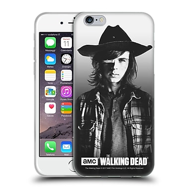 Official Amc The Walking Dead Filtered Portraits Carl Soft Gel Case For Apple Iphone 6 / 6S