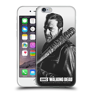 Official Amc The Walking Dead Filtered Portraits Negan Soft Gel Case For Apple Iphone 6 / 6S