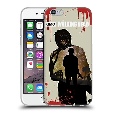 Official Amc The Walking Dead Silhouettes Glenn Soft Gel Case For Apple Iphone 6 / 6S