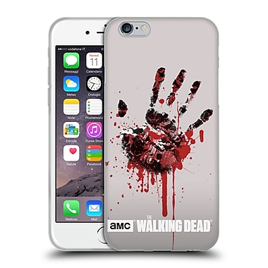 Official Amc The Walking Dead Silhouettes Hand Soft Gel Case For Apple Iphone 6 / 6S