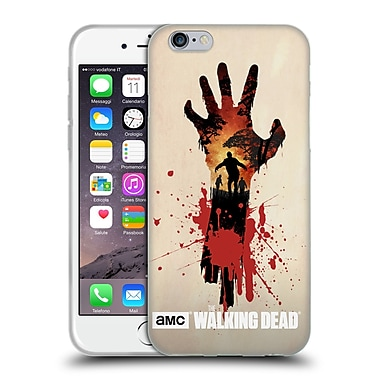Official Amc The Walking Dead Silhouettes Walker Hand Soft Gel Case For Apple Iphone 6 / 6S