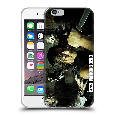 Official Amc The Walking Dead Walker Character Daryl Knife Soft Gel Case For Apple Iphone 6 / 6S