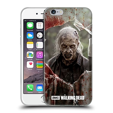 Official Amc The Walking Dead Walkers Angry Soft Gel Case For Apple Iphone 6 / 6S