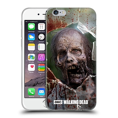 Official Amc The Walking Dead Walkers Jaw Soft Gel Case For Apple Iphone 6 / 6S