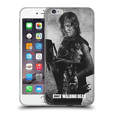 Official Amc The Walking Dead Exposure Daryl Soft Gel Case For Apple Iphone 6 Plus / 6S Plus
