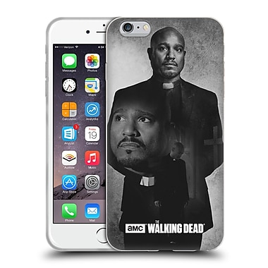 Official Amc The Walking Dead Exposure Gabriel Soft Gel Case For Apple Iphone 6 Plus / 6S Plus