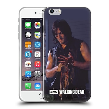 Official Amc The Walking Dead Filtered Characters Daryl Soft Gel Case For Apple Iphone 6 Plus / 6S Plus