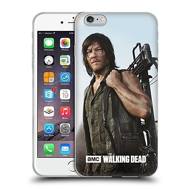 Official Amc The Walking Dead Filtered Characters Daryl Crossbow Soft Gel Case For Apple Iphone 6 Plus / 6S Plus